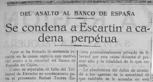 """""""La Voz de Asturias"""", 25 de julio de 1925."""